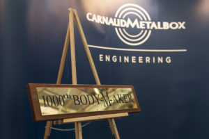 CMB celebrates 1000th bodymaker and 100th die necker