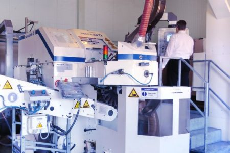 Metal packaging production at top speed