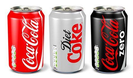 Coca-Cola UK to go colour coded