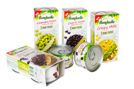 Ardagh creates mini steel cans for Bonduelle