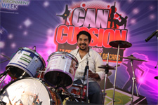 Indian bands perform at CanCussion event