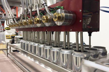 Cask unveils new canning line