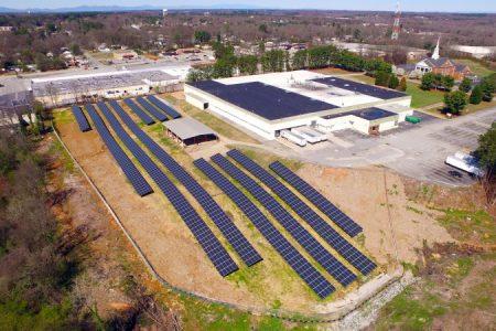 Crown's Spartanburg plant utilises solar energy