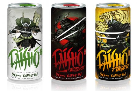 Samurai power in a can