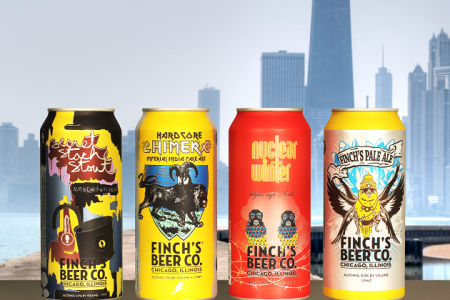 Finch's beer transitions to cans