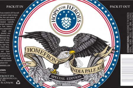 Crown cans for Hops For Heroes'