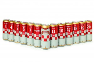 Croatian beer in collectible Ball cans