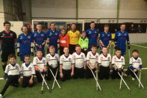 Crown sponsors England Amputee Football Association
