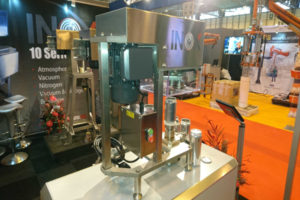 INOX Seamer for new beverage can making line
