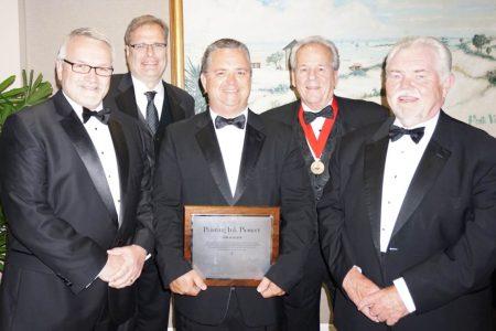 INX International's Jim Bailen recognised