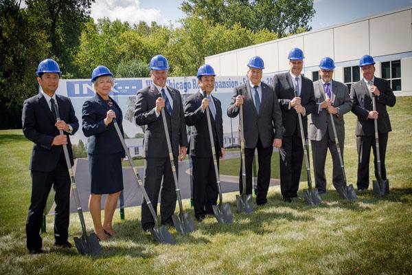 INX expands West Chicago R&D complex