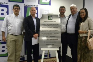 Ball announces plant expansion in Brazil