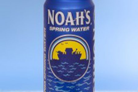 Noah's Spring Water opts for Cap Can from Rexam