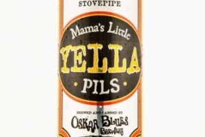Mama's Little Yella Pils debuts in 'stovepipe' cans