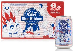 Pabst Blue Ribbon introduces limited edition cans