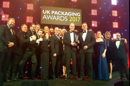 Ardagh wins 'Packaging Company of the Year' at UK Packaging Awards