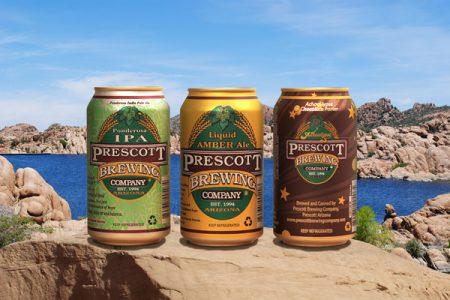 Prescott Brewing Company selects Rexam cans