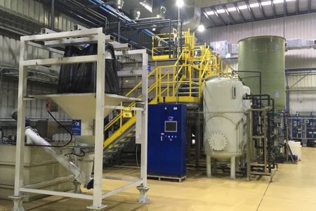 Cie install third ZLD plant