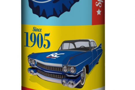 Pop Art redesign for RC Cola
