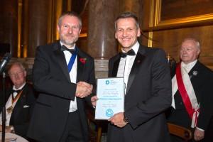 Tea tin scoops top award