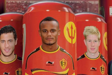 Belgian soccer stars get canned