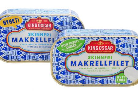 King Oscar selects Ardagh's Easy Peel can