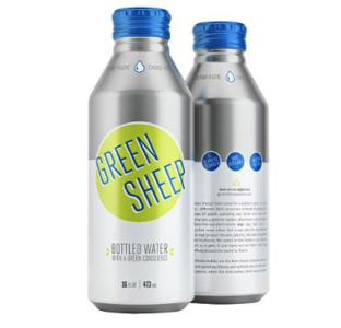 Green Sheep Water launches in aluminium bottles