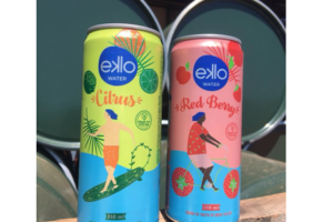 Crown collaboration brings flavoured water cans to Brazil