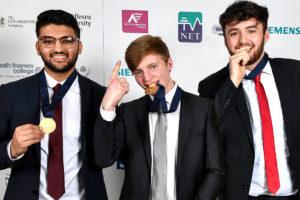 CarnaudMetalbox celebrates gold at The Skills Show