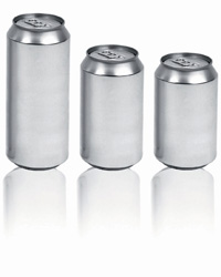Production of new can size underway in China