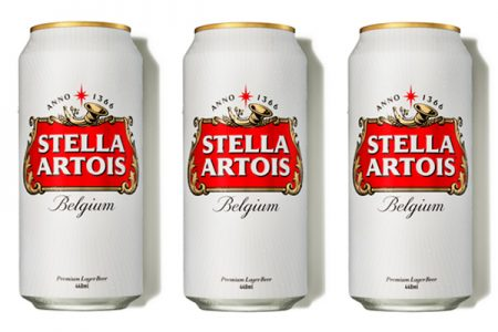 Stella Artois updates packaging design