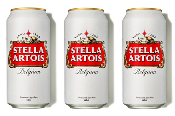 Stella Artois updates packaging design