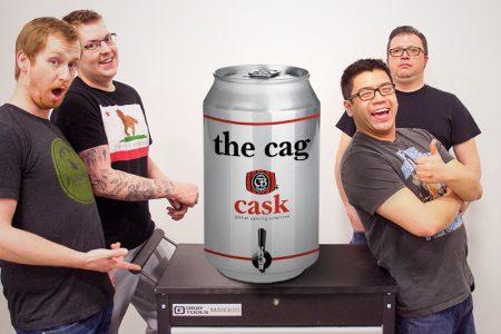 Cask unveils canning machine