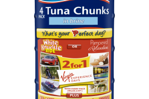 Tuna cans offer perfect day out promotion