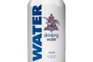 A-B produces canned water for disaster relief