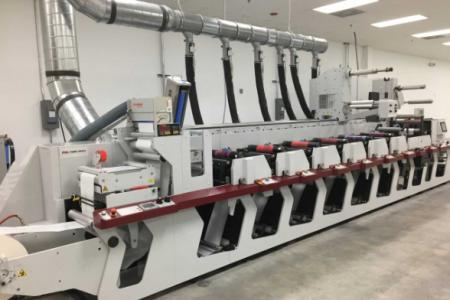 Actega North America R&D center installs Mark Andy P5 press