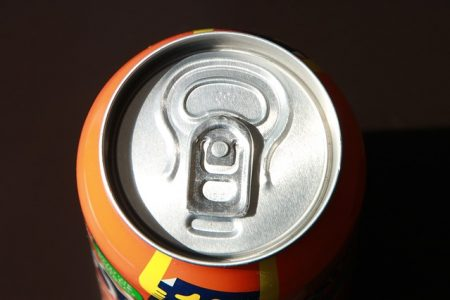 Fanta's canned jelly soft drink