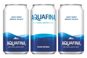 PepsiCo moves Aquafina brand to cans