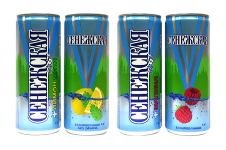 First flavoured water in cans to hit Russian market