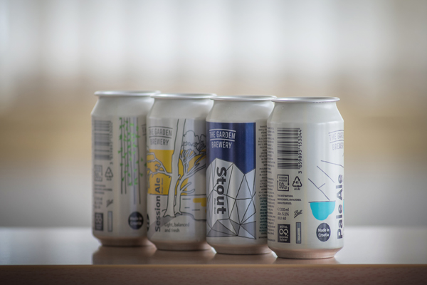 Ball collaborates with Croatian craft brewer Garden Brewery
