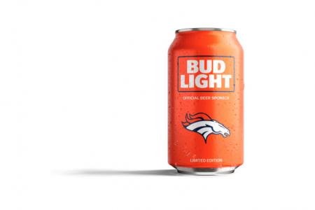 Bud Light rebrands NFL team cans
