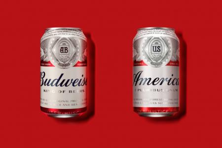 Budweiser celebrates America through cans