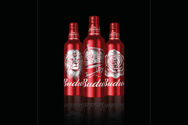 Budweiser launches limited edition aluminium bottles