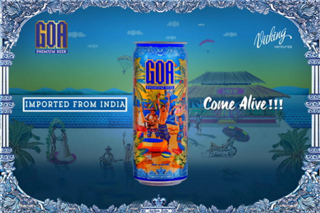 Goa Premium Beer introduces cans for off trade