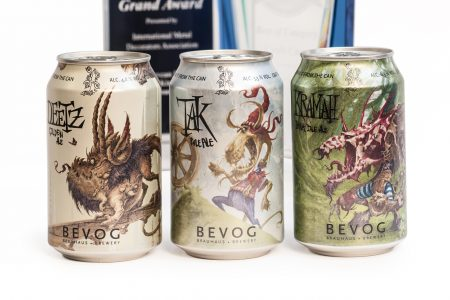 Crown partners with Bevog microbrewery
