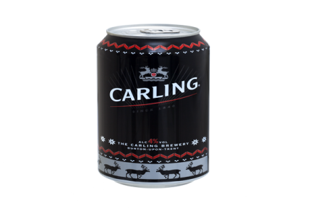 Carling release can line with Ball