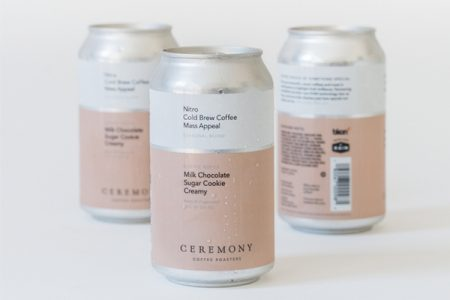 BKON extends shelf life  of Ceremony's canned coffee