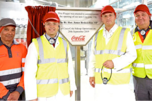 Coca-Cola invests £55m in Sidcup canning plant