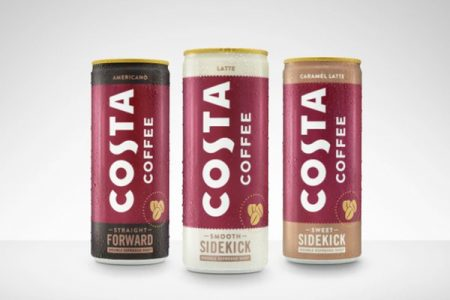 Costa Coffee launches canned RTD products