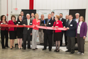 Crown opens Greenfield beverage can facility in the US